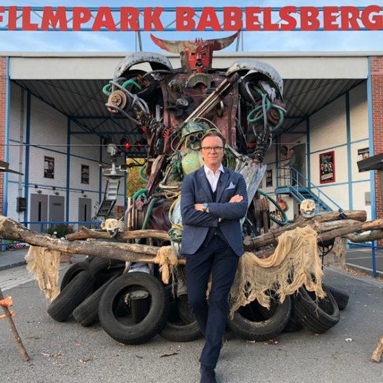 Dreharbeiten Kessel Buntes im Filmpark Babelsberg 2019IMG 1085