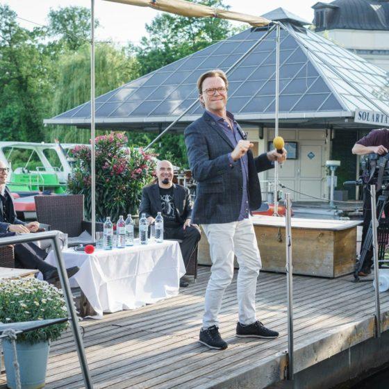 Tv Talk Köpenick Wolfgang Lippert Der Morgensong, Mathis Richter, Gregor Gysi ,Alf Ator
