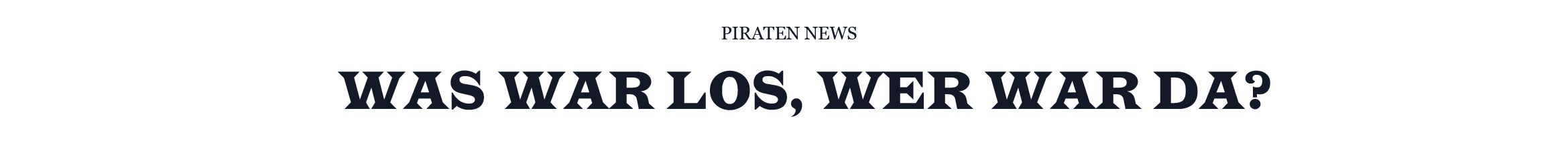 wwl wwd piraten news